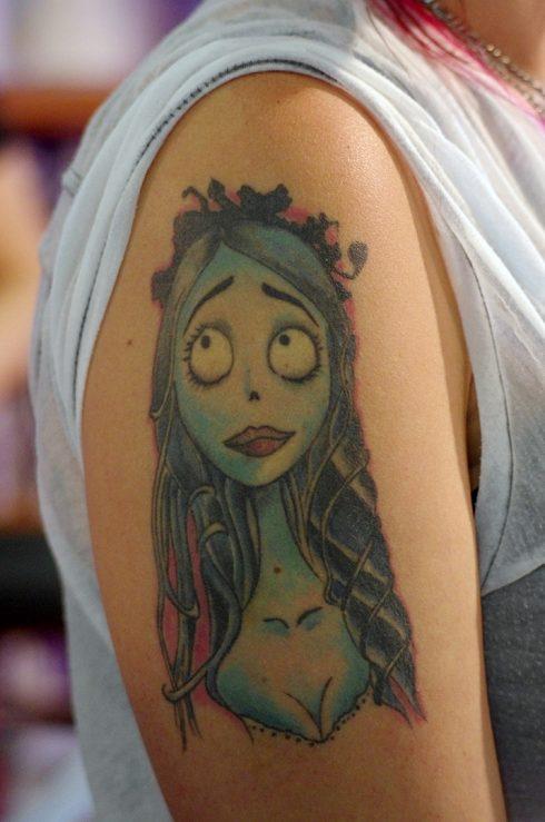 Tatouage - bras tatoué - Tatouage princesse