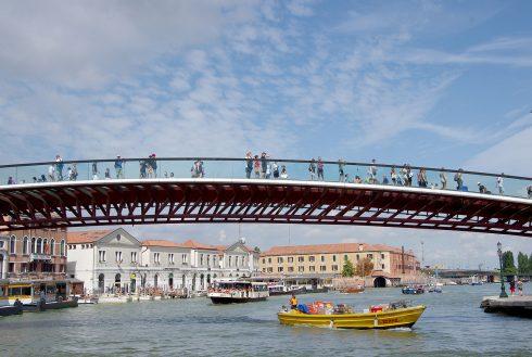 Venise - canal - pont de la Constitution