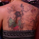 Tatouage - Tatouage dos - Tatouage estampe japonaise