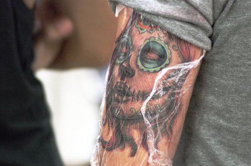 Tatouage - Tatouage bras - Tatouage gothique