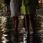 Venise - Aqua Alta - Pieds dans l'eau