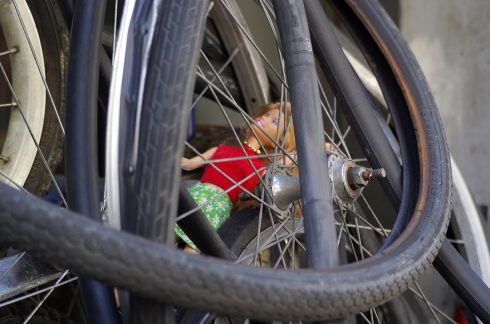 Pneu de vélo - poupée mannequin - chambre à air