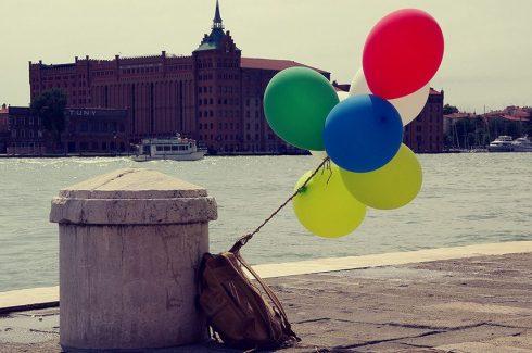 Venise - Canal - Ballon