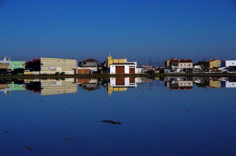 reflet - miroir - parc naturel du delta de l'ebre - catalunya - amposta - pentax K5II