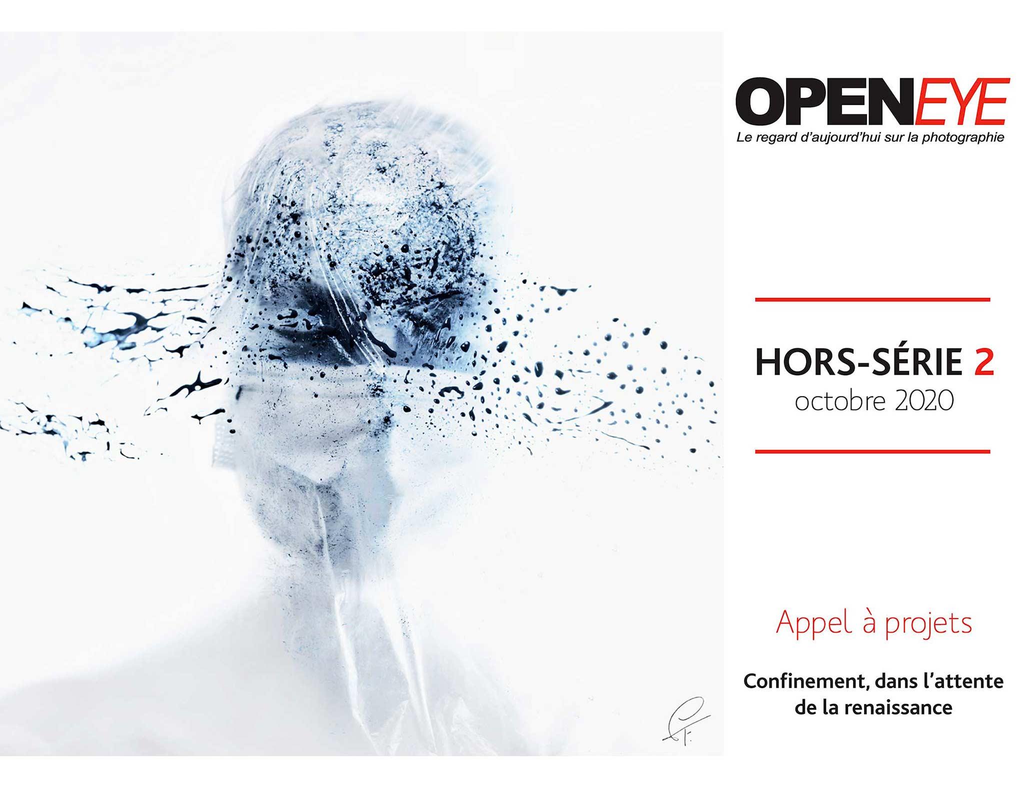 Magazine-Hors-Serie02 - openeye magazine - octobre - appel à projet - confinement - série - la chose confinée