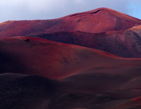 Volcan rouge - Lanzarote - îles Canaries